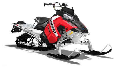 Polaris 800 RMK AXYS / Mountain Powder Sled