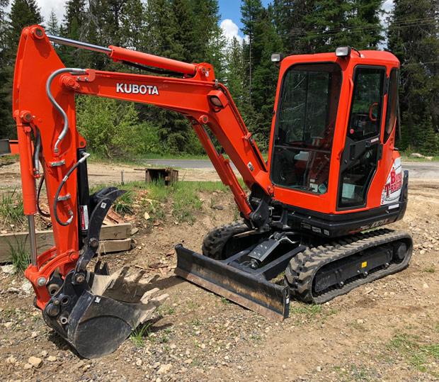 Kubota KX71 Excavator
